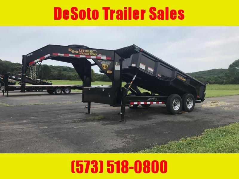 2022 Doolittle Mfg 82 x14 14K Gooseneck Dump Trailer