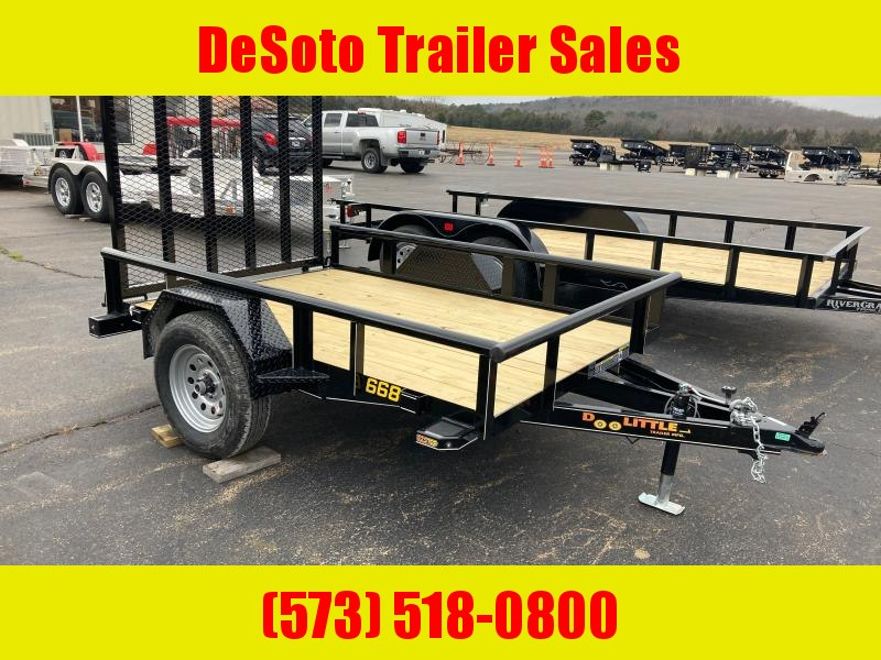 2021 Doolittle Trailer Mfg UT66X83K Utility Trailer