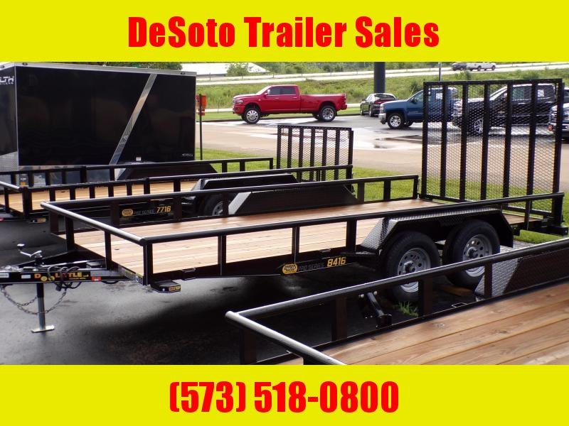 2020 Doolittle Trailer Mfg UT84X167K Utility Trailer