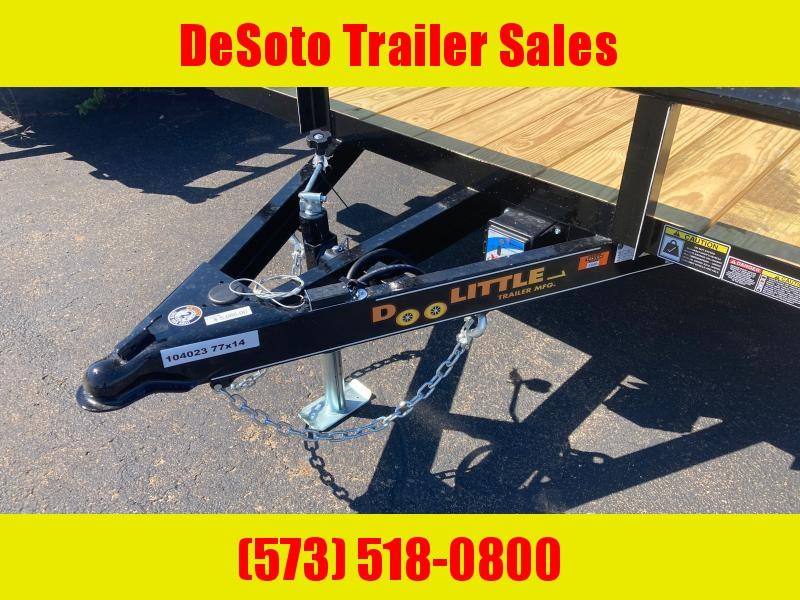 2022 Doolittle Trailer Mfg UT77X147K w Double Electric BrakesUtility Trailer