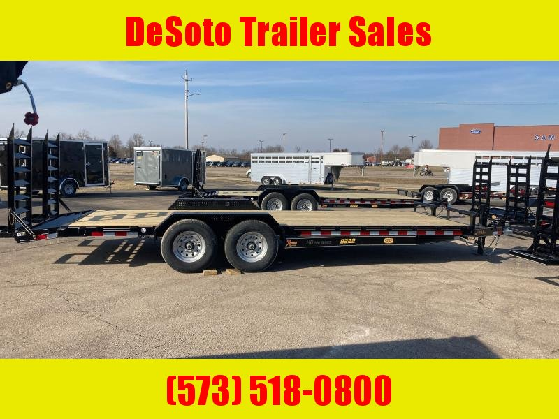 2021 Doolittle Trailer Mfg XT822214K Equipment Trailer