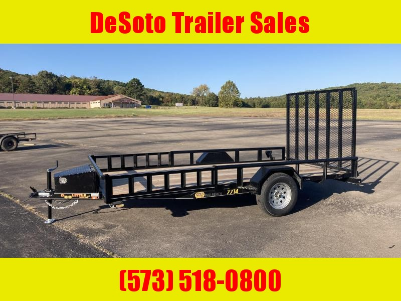 2021 Doolittle Trailer Mfg UT77X143K Utility Trailer
