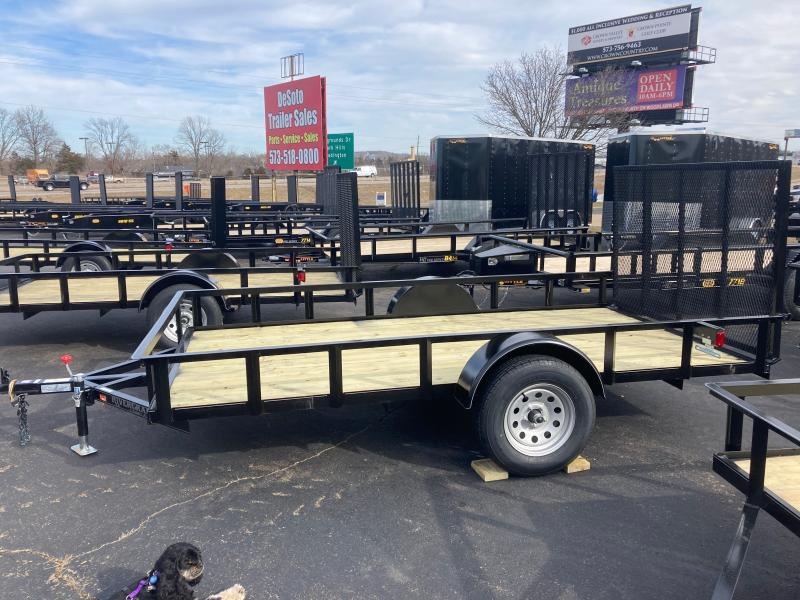 2021 Rivercraft 76X12 UTG Utility Trailer