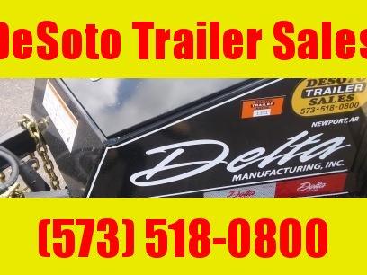 2020 Delta Manufacturing 135U614 Utility Trailer