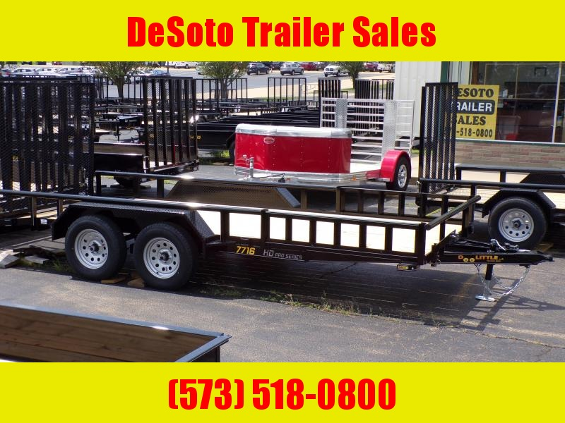 2020 Doolittle Trailer Mfg UT77X167K Utility Trailer