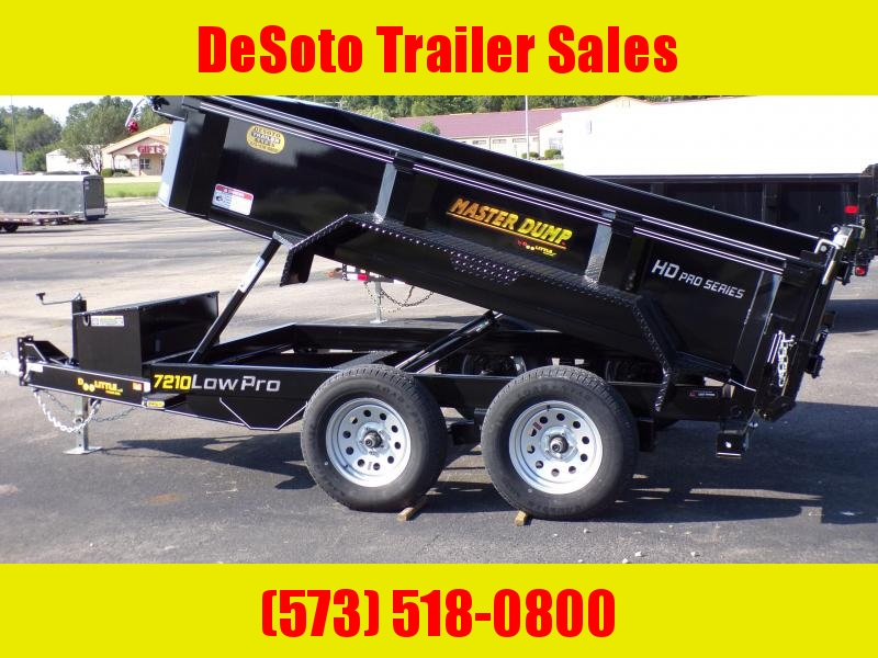 2020 Doolittle Trailer Mfg MD72X107K Dump Trailer