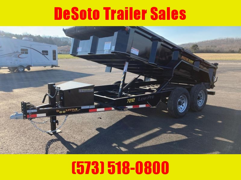 2021 Doolittle Trailer Mfg MD721210K Dump Trailer