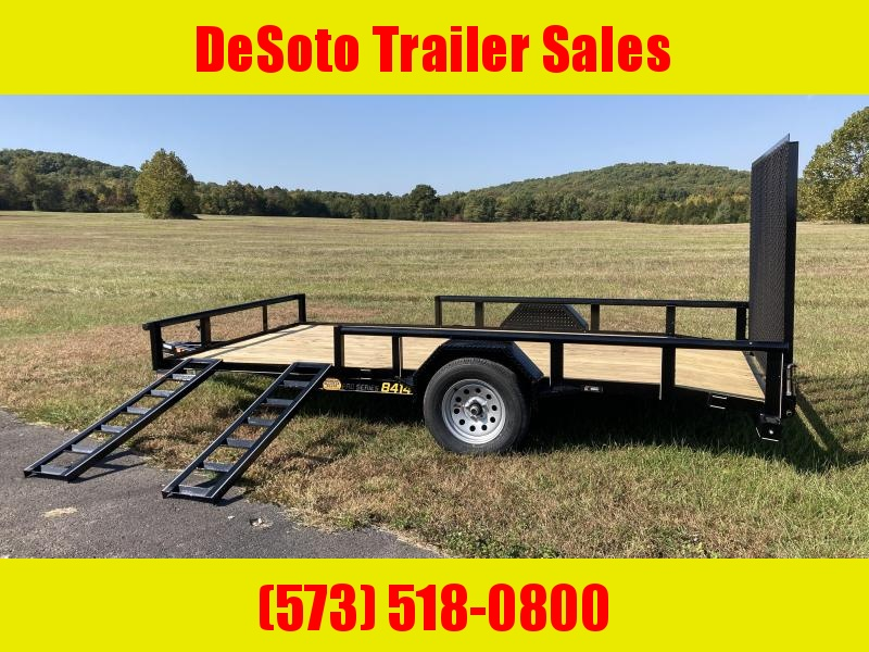 2021 Doolittle Trailer Mfg UT84X143K Utility Trailer