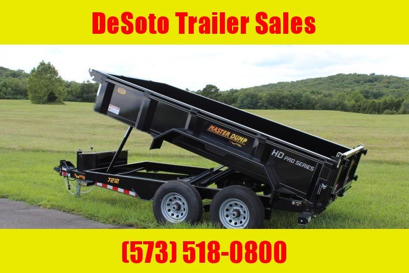 2020 Doolittle Trailer Mfg MD721210 Dump Trailer