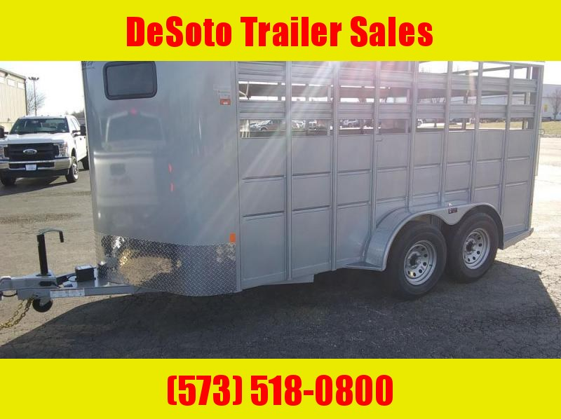 2019 Delta 16' 500 Economy Bumper Pull Stock Combo Trailer