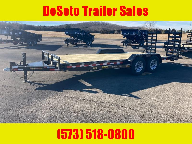 2021 Doolittle Trailer Mfg XT822014K Equipment Trailer