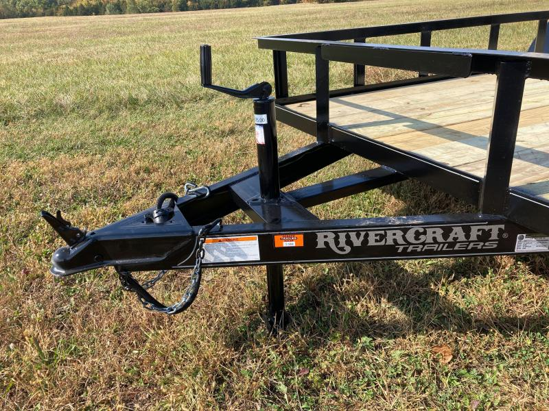 2021 Rivercraft 76X16TUTB Utility Trailer
