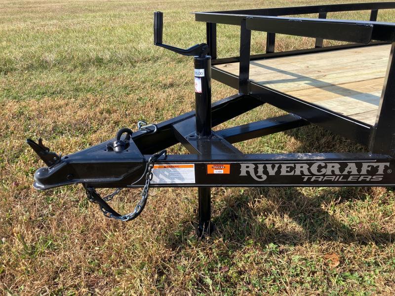 2021 Rivercraft 76X16TUTB Utility Trailer
