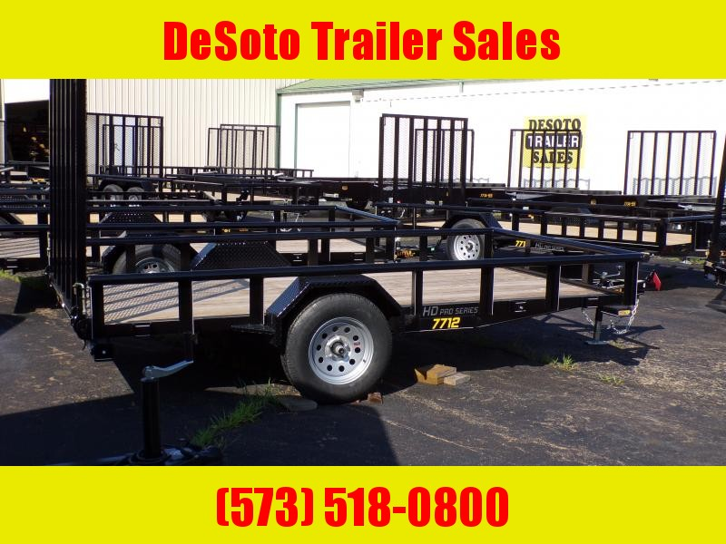 2020 Doolittle Trailer Mfg UT77X123K Utility Trailer