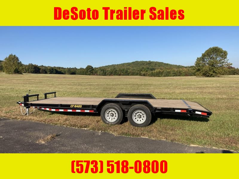 2021 Doolittle Trailer Mfg CF842098K Equipment Trailer
