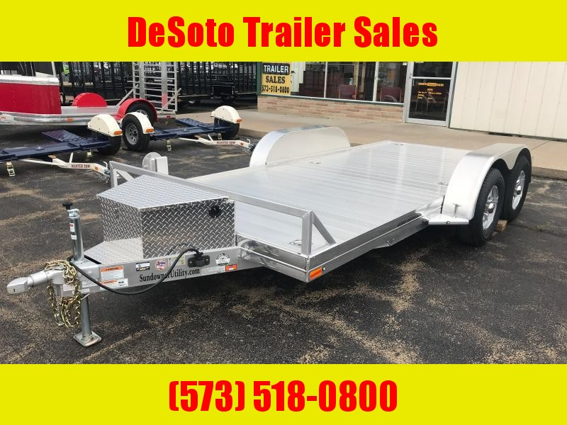 2021 Sundowner Trailers 4000AP16 Car / Racing Trailer