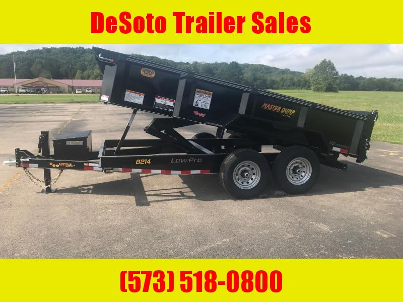 2021 Doolittle Trailer Mfg MD821414K Dump Trailer