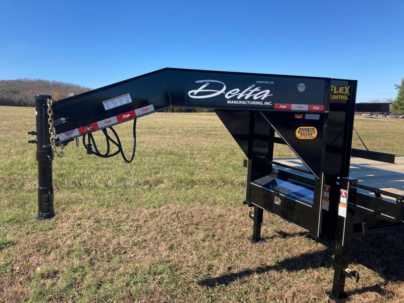 2020 Delta Manufacturing 210GN Tandem 10K Dually Gooseneck Equipment Trailer