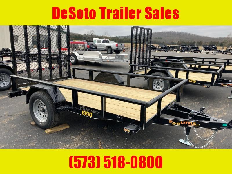 2021 Doolittle Trailer Mfg UT66X103K Utility Trailer