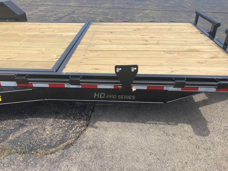2021 Doolittle Trailer Mfg 82 x 22 16K EZ Loader GT (16 + 6) Tilt Bed Equipment Trailer