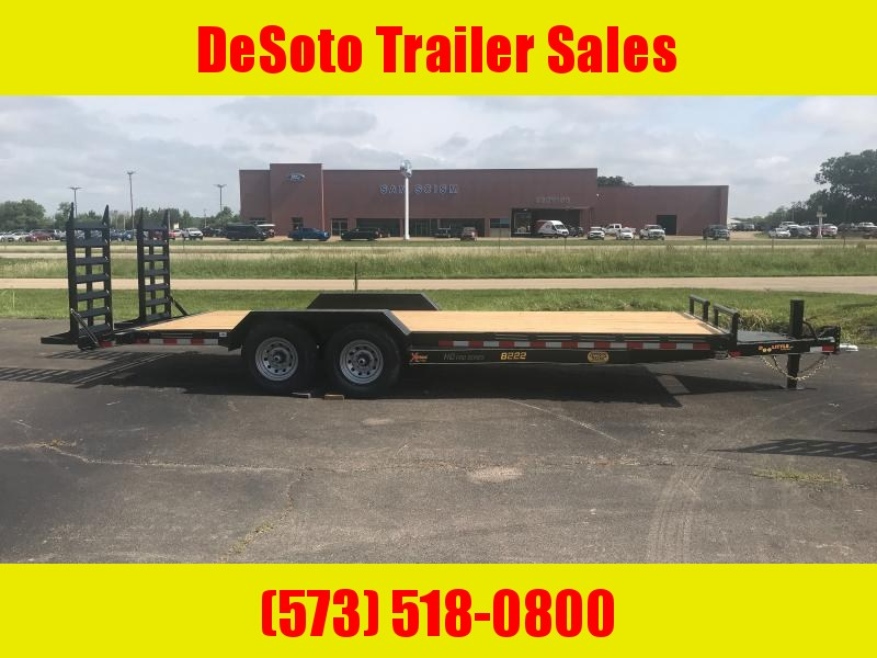 2021 Doolittle Trailer Mfg XT822014K (20 + 2) Equipment Trailer