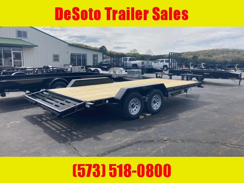 2021 Doolittle Trailer Mfg XtremE 84 x 18 (16 +2) Equipment Trailer