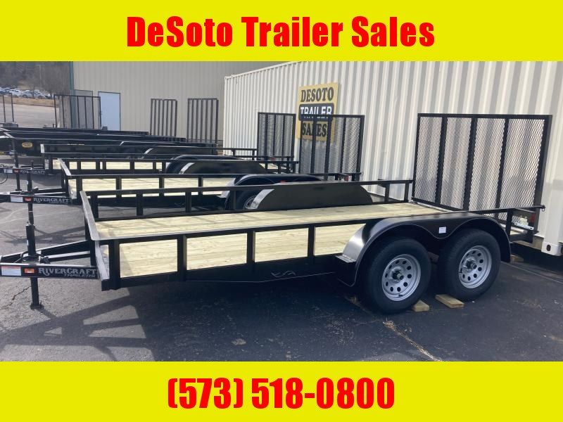 2021 Rivercraft 7614TUTB Utility Trailer