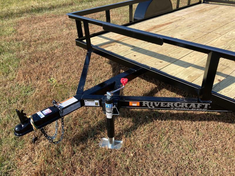 2021 Rivercraft 76X10UTG Utility Trailer