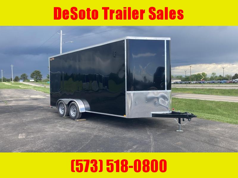 2021 Doolittle Trailer Mfg 7'x16' 7K Enclosed Cargo Trailer