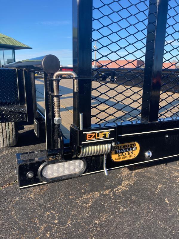 2021 Doolittle Trailer Mfg UT77X167K Utility w Double Electric Brakes
