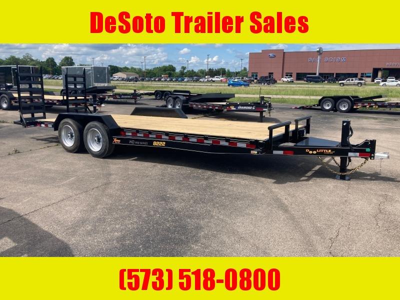 2021 Doolittle Trailer Mfg XT822216K Equipment Trailer