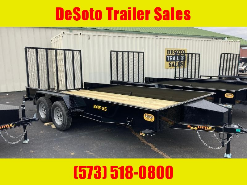 2021 Doolittle Trailer Mfg 84X16 7K SS Utility Trailer