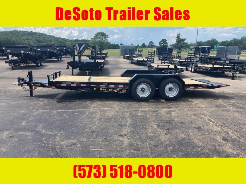2021 Doolittle Trailer Mfg 82 x 22 16K EZ Loader GT (16 + 4) Tilt Bed Equipment Trailer