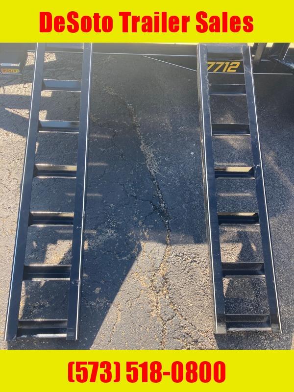 2021 Doolittle Trailer Mfg UT77X123K Utility Trailer w ATV Ramps