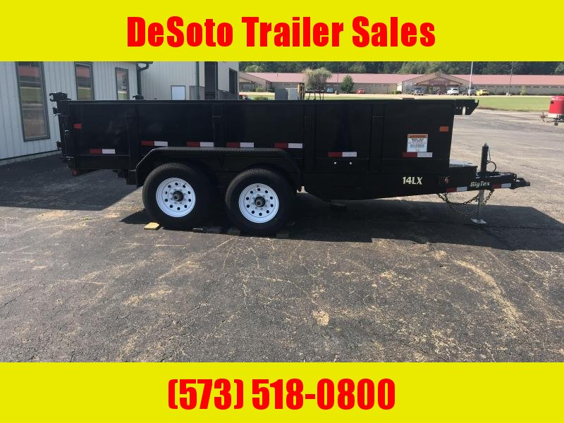 2018 Big Tex Trailers 14LX-14 Dump Trailer