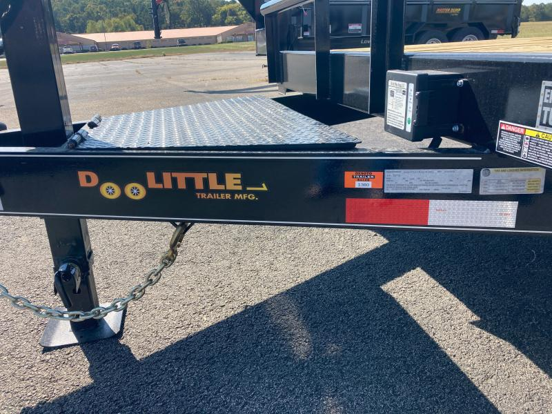 2021 Doolittle Trailer Mfg XT822014K (18+2) Equipment Trailer