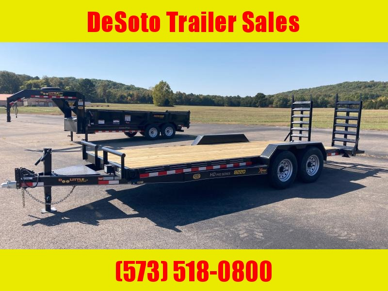 2021 Doolittle Trailer Mfg XT822014K (18+2) Equipment Trailer