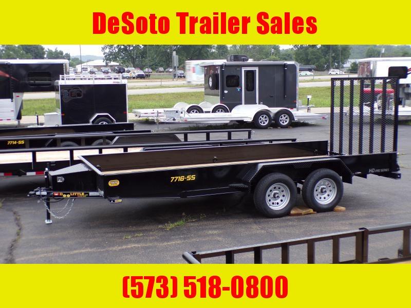 2020 Doolittle Trailer Mfg UT77X167K Utility Trailer