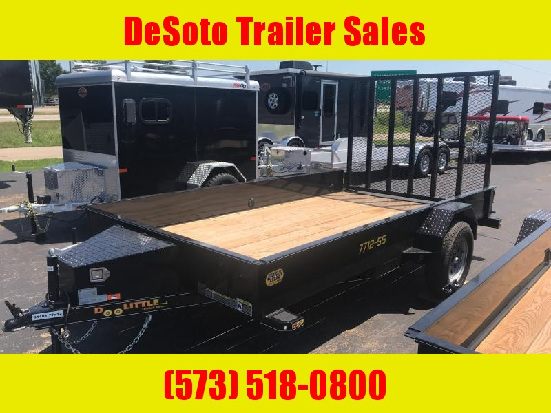 2020 Doolittle Trailer Mfg UT77x123K Utility Trailer