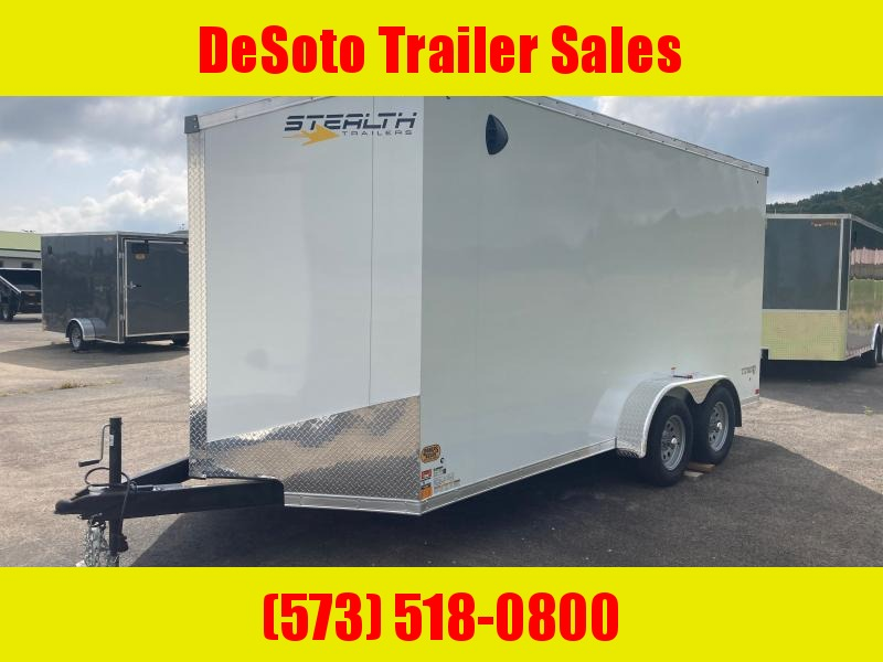 2022 Stealth Trailers 7x16 7K T/A Enclosed Cargo Trailer