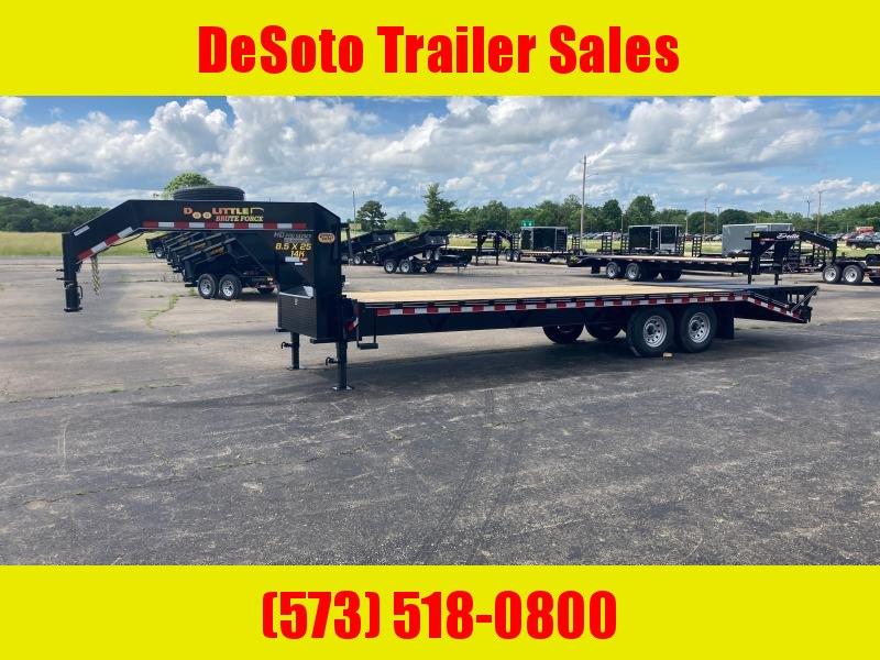2021 Doolittle Trailer Mfg 102 x 25 14K Brute Force Deckover Equipment Trailer