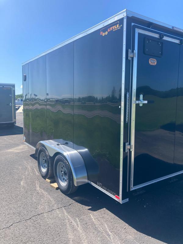 2021 Doolittle Trailer Mfg 7x14 7K T/A Enclosed Cargo Trailer
