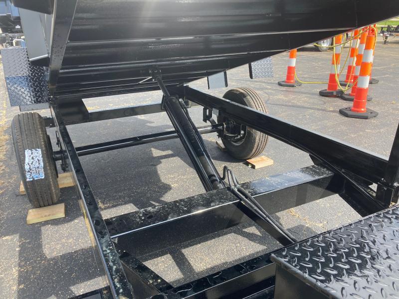 2022 Doolittle Trailer Mfg 60x10 5K Dump Trailer