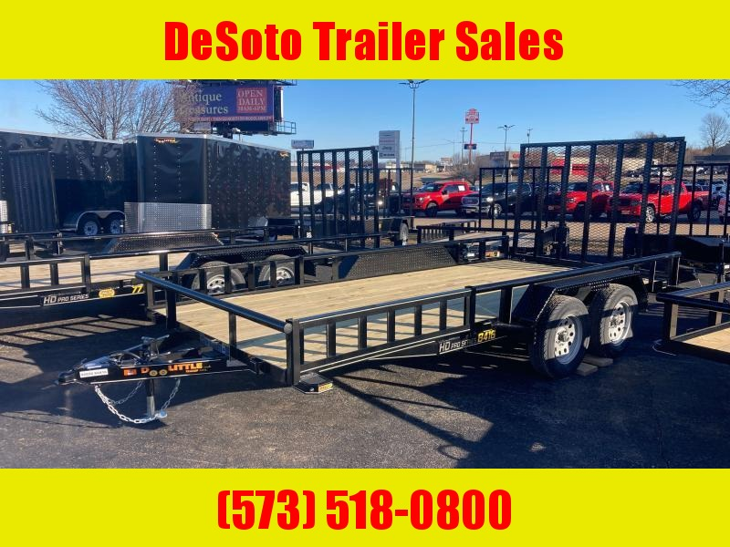 2021 Doolittle Trailer Mfg UT84X167K Utility Trailer