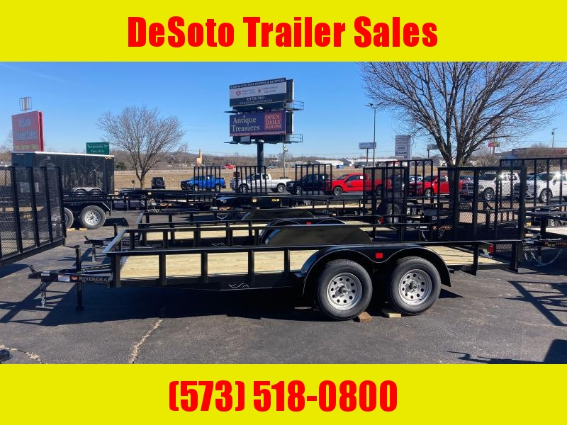 2021 Rivercraft 7616TUTB Utility Trailer