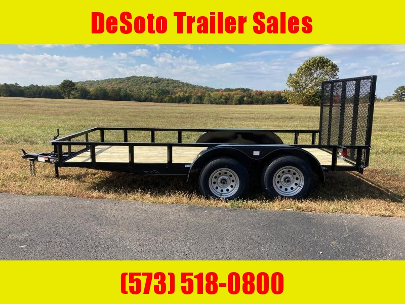 2021 Rivercraft 76X14TUTB Utility Trailer