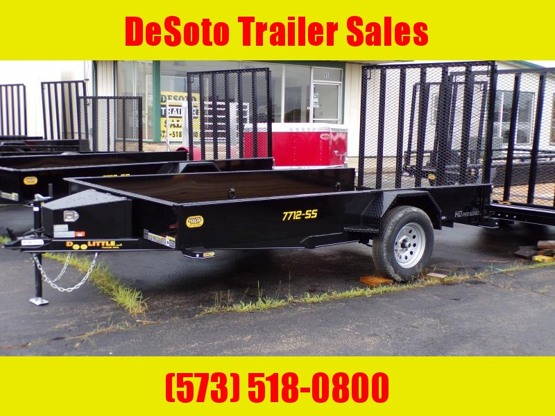 2020 Doolittle Trailer Mfg UT77X123K Utility Trailer SS Series