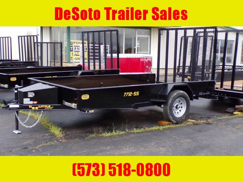 2020 Doolittle Trailer Mfg UT77X123K Utility Trailer SS Series