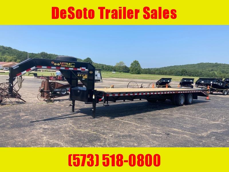 2022 Doolittle Trailer Mfg 102 x 35 22K (30 + 5) Brute Force GN Deckover Deckover Trailer