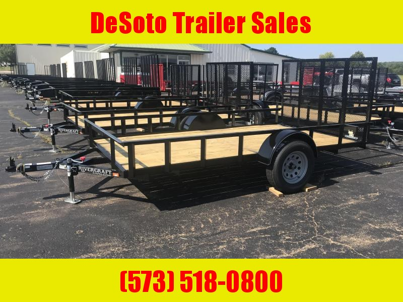 2021 Rivercraft 76X12UTG Utility Trailer